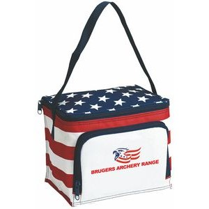 Stars & Stripes 6 Can Cooler / Lunch Bag
